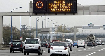 Alerte pollution de l'air